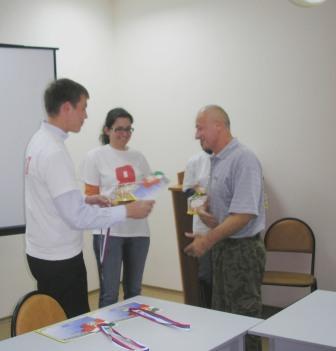 Фото: Бронзовый призер турнира - Анатолий Руссу