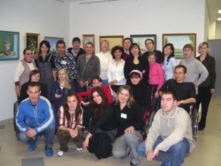 """Фото: Члены Молодежного клуба """"Ника"""""""
