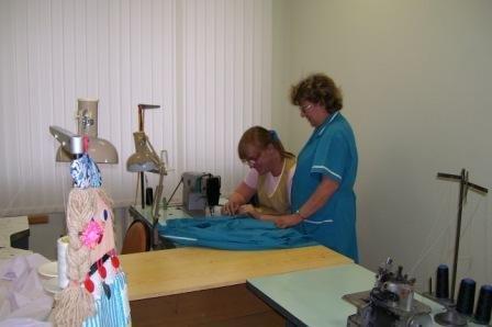 Фото: В швейной мастерской