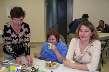 Фото: Традиционное субботнее чаепитие