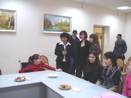 Фото: Встреча с экспертом ЕС Марией Маринаку (27 сентября 2007 г.)
